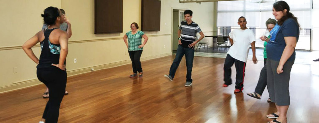 Dance and Movement class